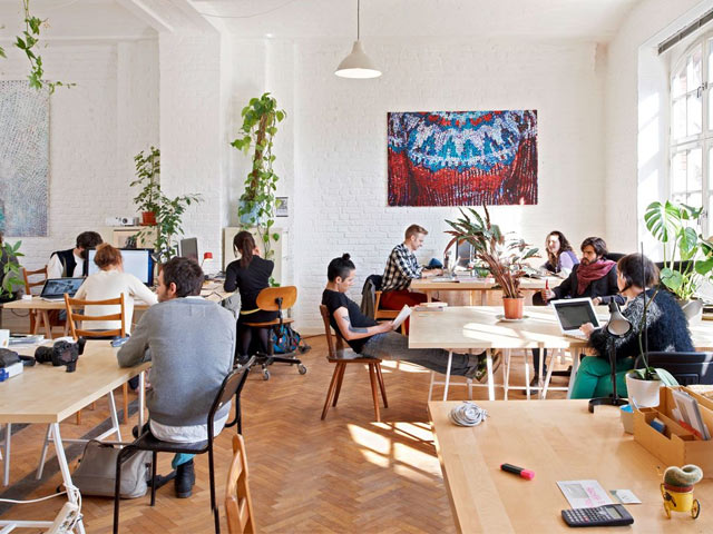 Community in a Coworking Space
