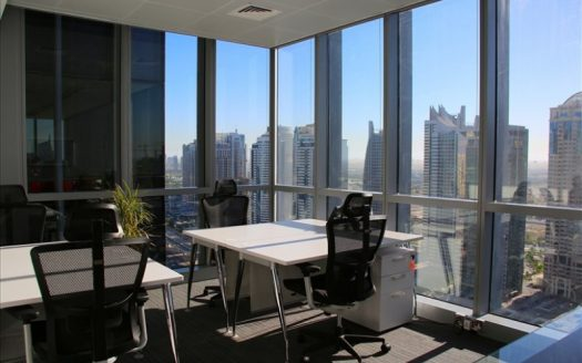 serviced office space uae