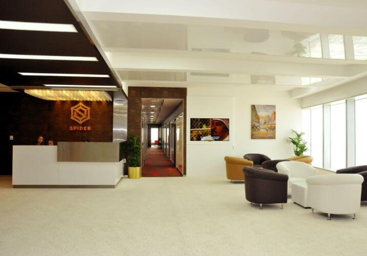 Spider Business Center in Dubai